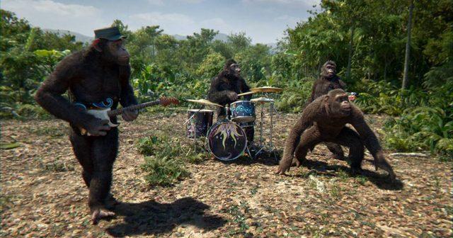 画像: Coldplay、モーションキャプチャーでチンパンジーに変身した、最新シングルのMVを公開!