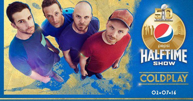 画像: Coldplayが2016年のSuper Bowl Halftime Showへの出演が決定!