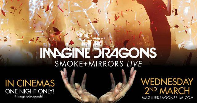 画像: 世界で最もライヴが熱いバンド、イマジン・ドラゴンズが、 3月2日(水)1夜限定で世界中のスクリーンに登場!