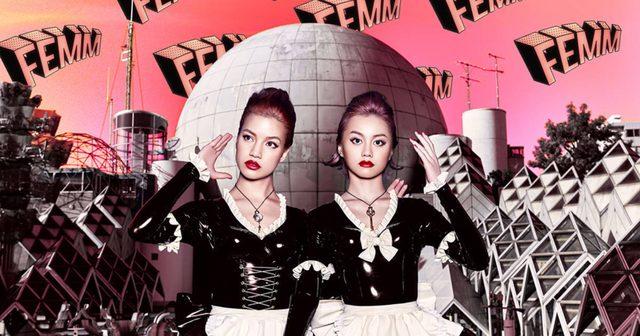 画像: 世界が恋したマネキン・ダンス&ラップデュオ「FEMM」が衝撃の初ライブ映像 & リミックスMVの2映像を一挙公開!