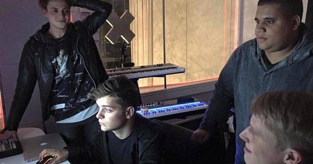 画像: Jay Hardway、Martin Garrix、Julian Jordan、Justin Myloが新曲を作成中か?