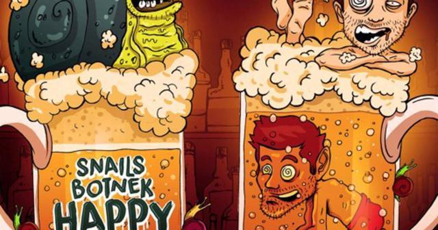 画像: SnailsとBotnekコラボ曲「Happy Hour」を無料ダウンロードとして公開!