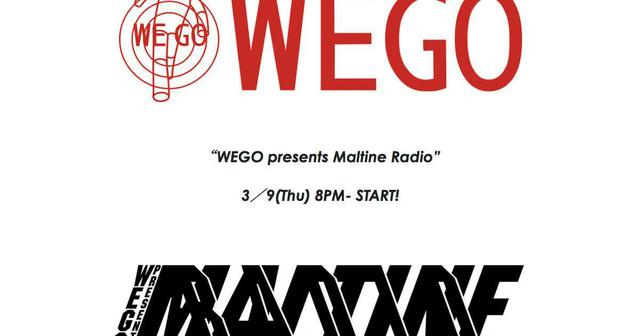 画像: マルチネラジオ始動!InterFM897にて「WEGO presents Maltine Radio」放送開始!