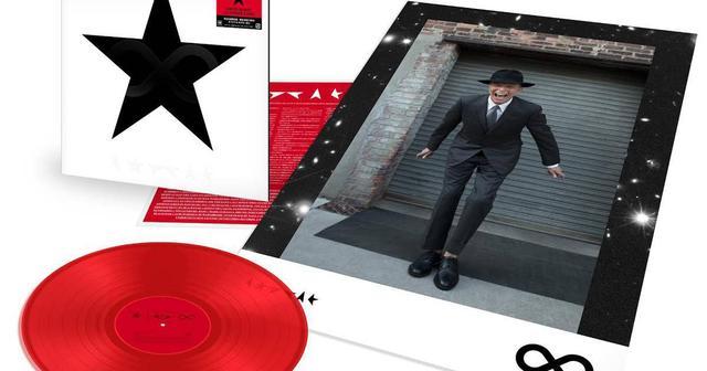 画像: ボウイ展にて完売となった「★」12インチ・カラーレコードが、数量限定での再販売決定!