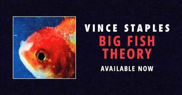 画像: 気鋭ラッパーVince Staplesが待望の最新アルバム『Big Fish Theory』をリリース!