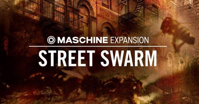 画像: Native Instruments、新しいMASCHINE Expansion STREET SWARMをリリース