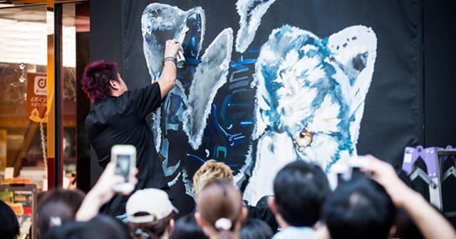 画像: MAN WITH A MISSION、渋谷でライブペインティングによる新曲ジャケ写解禁!