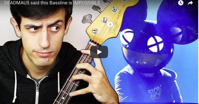 画像: Deadmau5が演奏不可能だと言った「Strobe」Remixを人気ユーチューバーが演奏してしまう事態が発生...