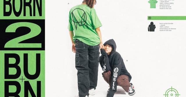画像: Skrillex のレーベル「OWSLA」がスケーターに捧げる新作「BORN 2 BURN」を販売開始!