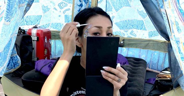 画像: 【レイヴの達人】SAORI姐さんオススメ、汗でも水でも落ちにくい夏フェス向けメイクアップ方法は!?