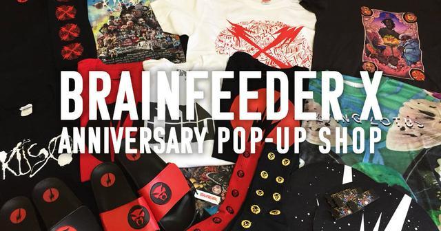 画像: 【BRAINFEEDER】設立10週年を記念したポップアップショップいよいよ来週開催!限定グッズの全貌が明らかに!