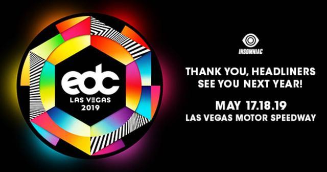画像: EDC Las Vegas 2019 のチケットの販売、早くもスタート!!