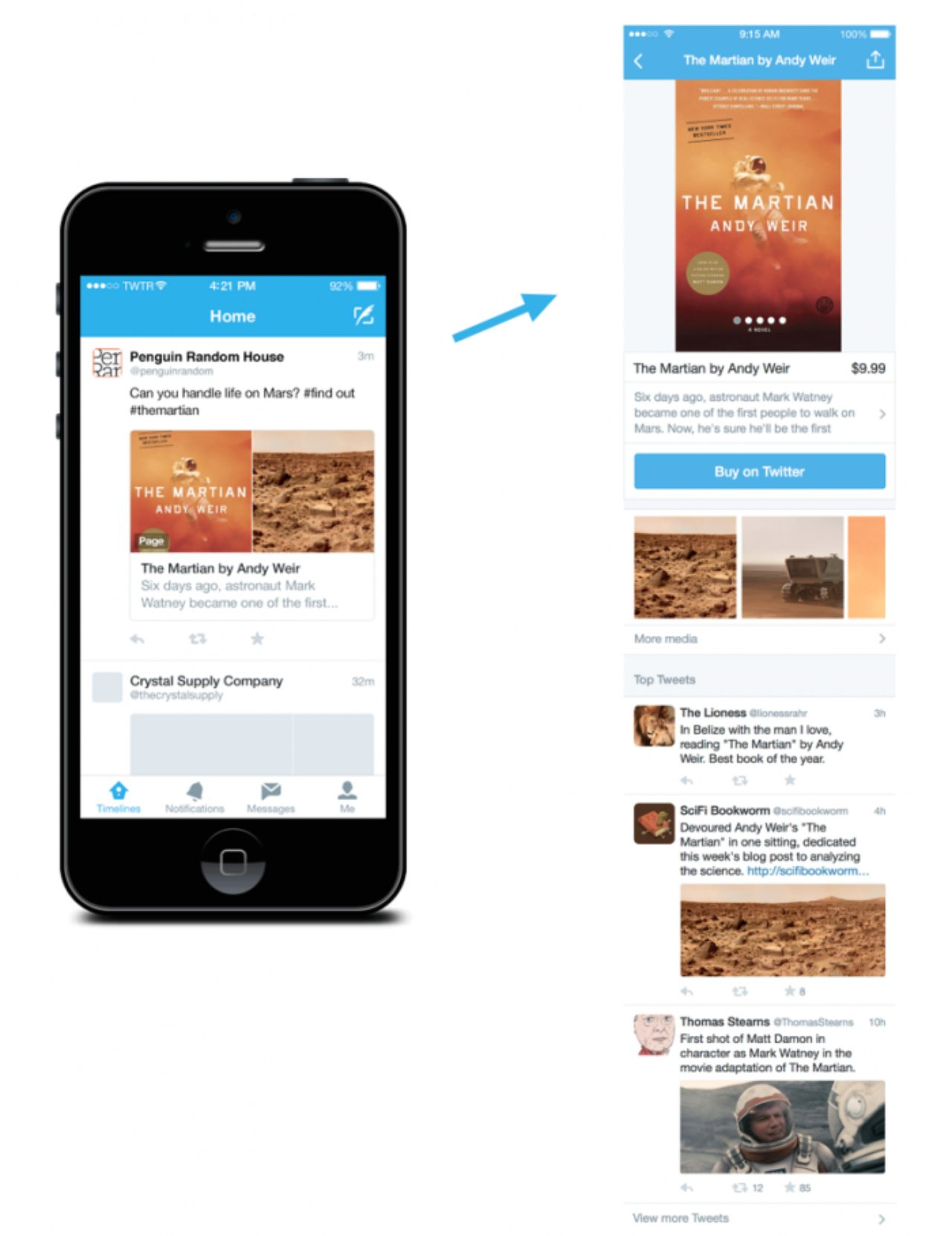 画像: 「ページ(Product and place pages)」イメージ blog.twitter.com