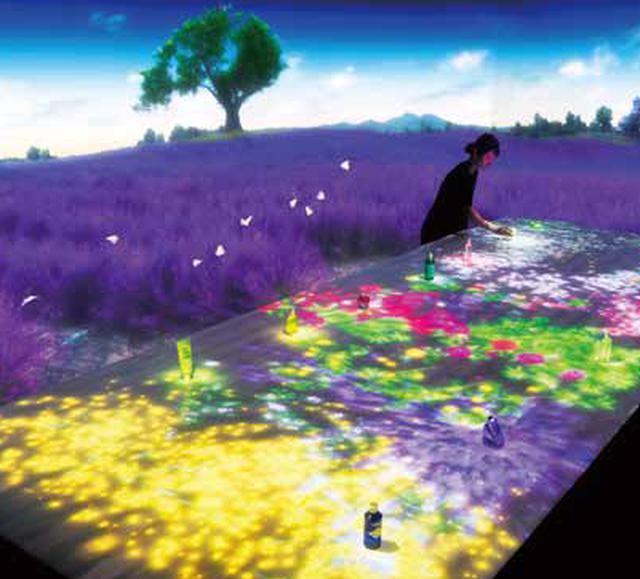 画像: ロクシタン世界初。体感型デジタルシアター Digital Provence