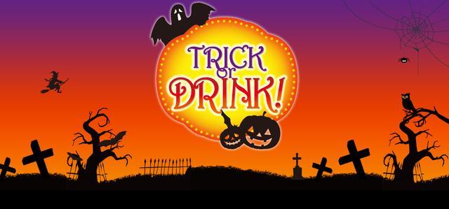 """画像: 合言葉は、「TRICK or DRINK!」""""ハロウィン""""がテーマのフォトコンテスト"""