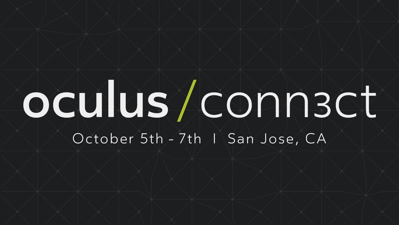 画像: Oculus Connect 3 | Oculus Developer Conference | San Jose, CA, October 5 - 7, 2016
