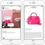 画像: Instagram、小売ブランドと共同でショッピング機能を強化