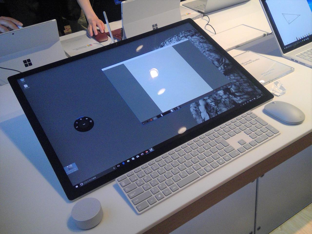 画像: Surface Studio「あなたのデスクを、スタジオに」