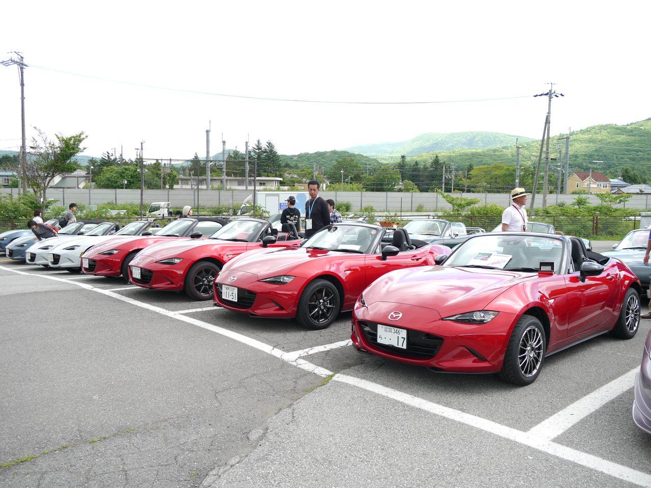 画像: 新型NDロードスターが30台以上も参加! mzracing.jp