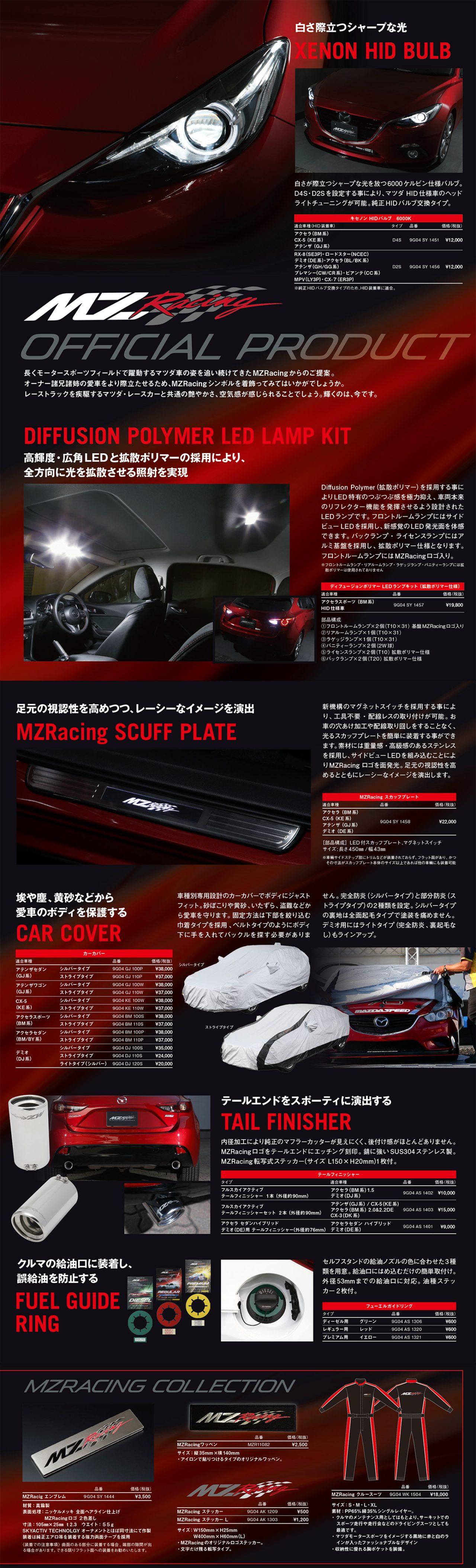 画像: store.mzracing.jp
