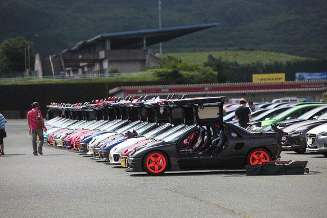 画像3: 200台を超えるマツダ車が結集!マツダファン九州ミーティング 2015 in AUTOPOLIS