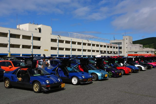 画像4: 200台を超えるマツダ車が結集!マツダファン九州ミーティング 2015 in AUTOPOLIS