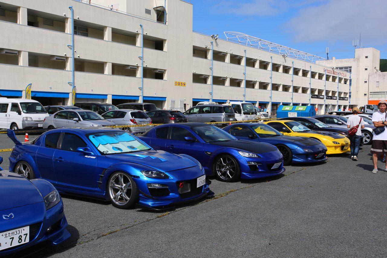 画像6: 200台を超えるマツダ車が結集!マツダファン九州ミーティング 2015 in AUTOPOLIS