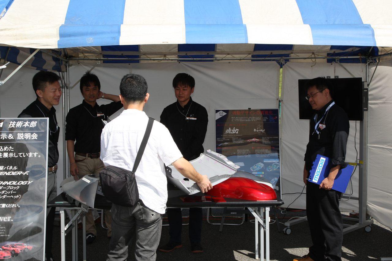 画像2: 新型車両体験試乗会、ドラポジ講座、もの造り展示も開催