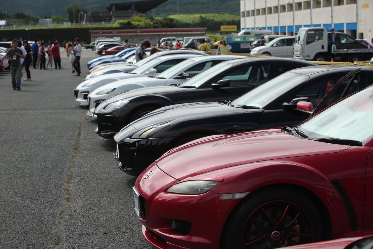 画像8: 200台を超えるマツダ車が結集!マツダファン九州ミーティング 2015 in AUTOPOLIS