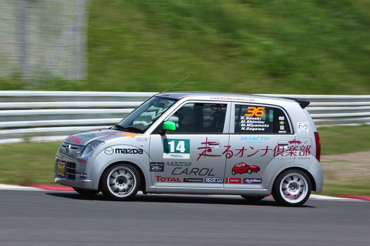 画像: マツ耐に出場した笹木さんのチーム「走るオンナ倶楽部」
