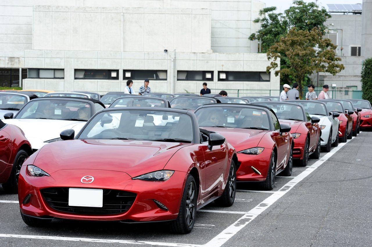 画像3: 9月5日、メディア対抗4時間耐久レースイベント内で開催された「MZRacing Roadster Meeting」の様子をお届けします!