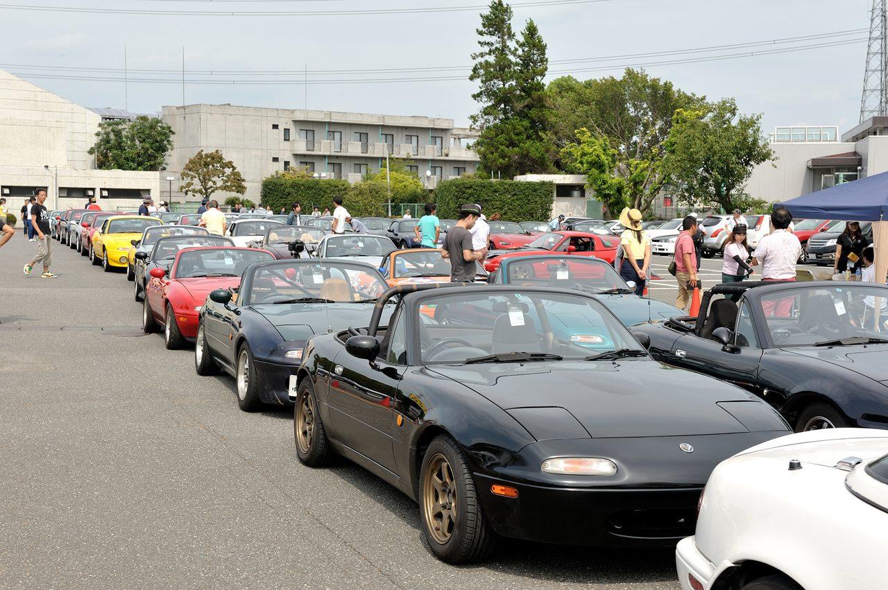 画像4: 9月5日、メディア対抗4時間耐久レースイベント内で開催された「MZRacing Roadster Meeting」の様子をお届けします!