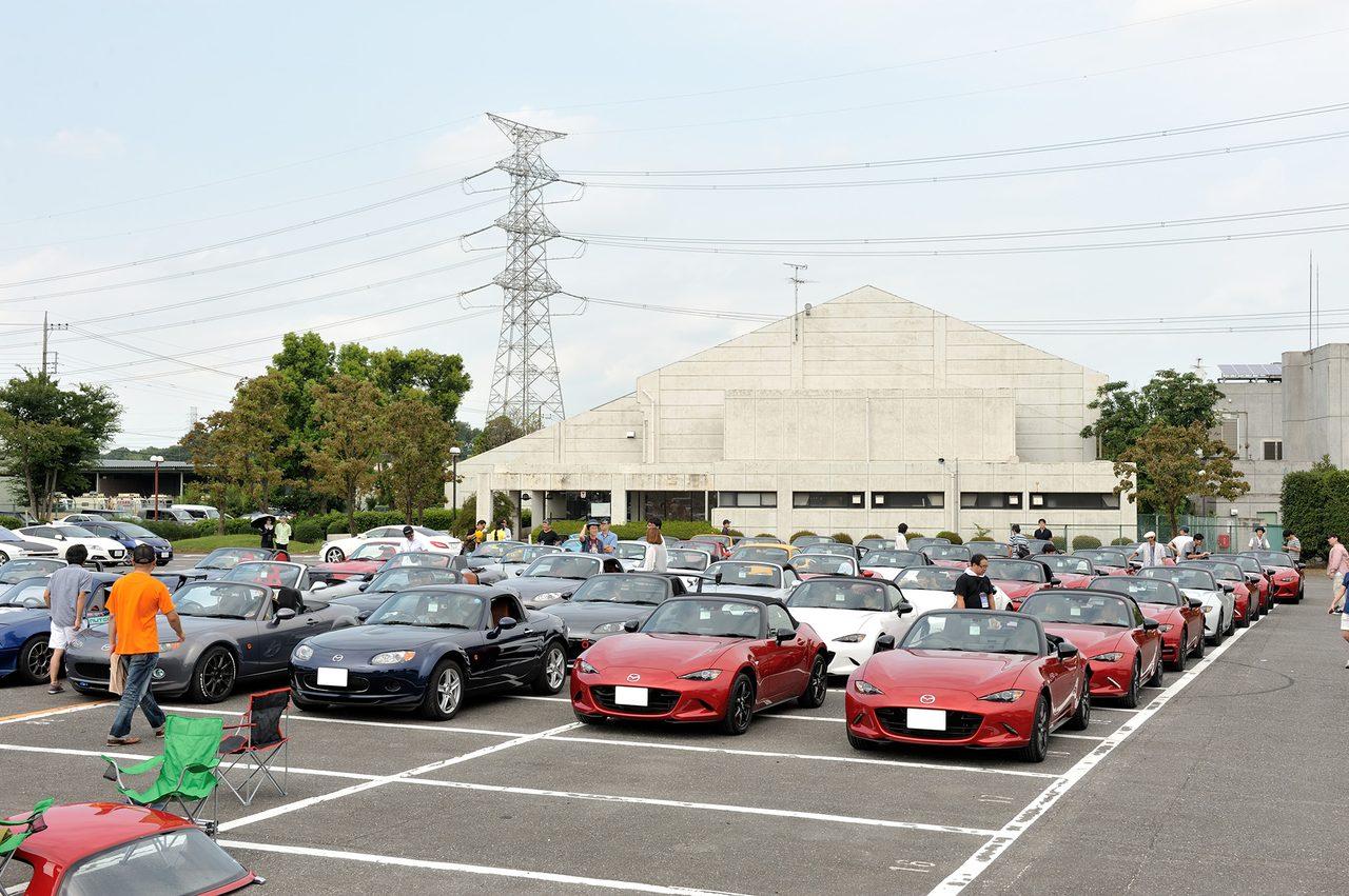 画像5: 9月5日、メディア対抗4時間耐久レースイベント内で開催された「MZRacing Roadster Meeting」の様子をお届けします!