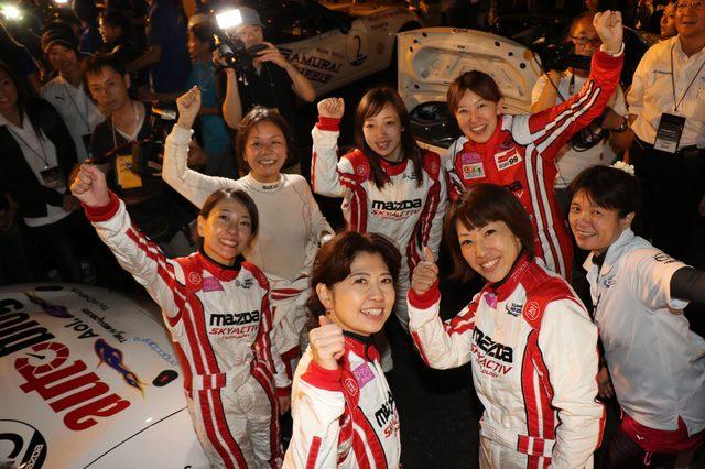 画像3: 新たな女性チームが4耐デビュー!日経ウーマノミクス×マツダWIMSプロジェクト