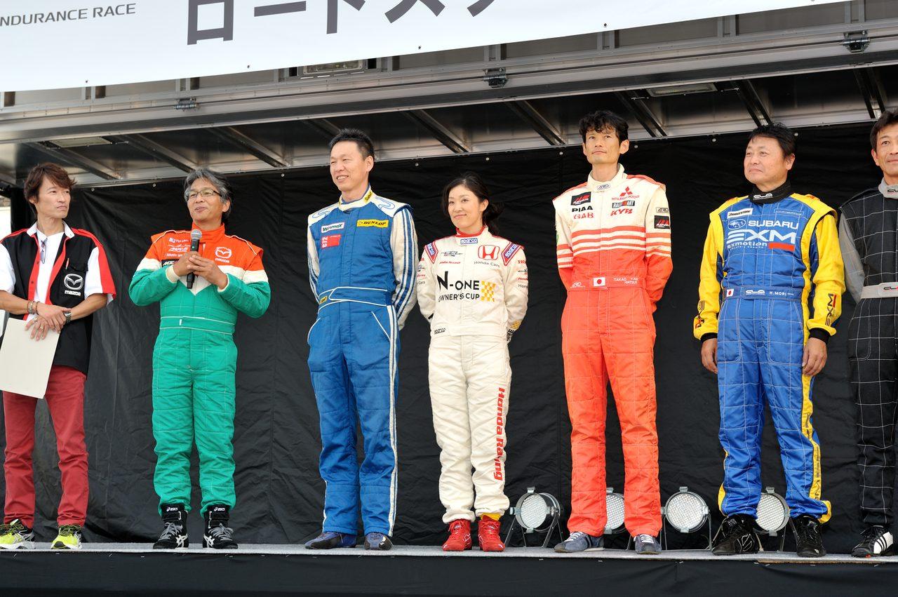 画像2: スポーツカー主査連合チーム  ホンダの山中恭子さん