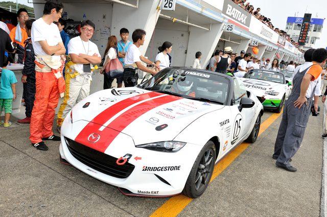 画像4: スポーツカー主査連合チーム  ホンダの山中恭子さん