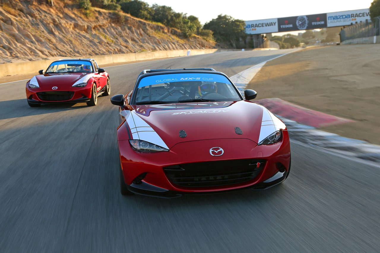 画像: ベースモデル開発途中のイメージ「グローバルMX-5カップ」 Photo by Mazda USA mzracing.jp