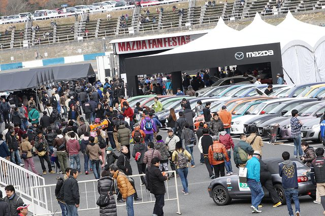 画像1: MAZDA FAN FESTA 2015 in OKAYAMA「A.M.O.A with MZRacing Parade Run」参加者レポート!
