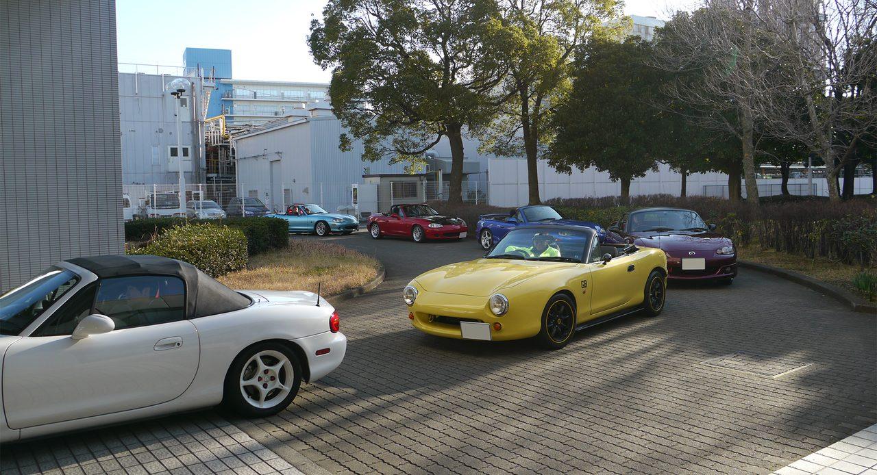 画像2: イベントレポ:NB Roadster Meeting 〜 NBも頑張ろう! 〜 in マツダR&D横浜」