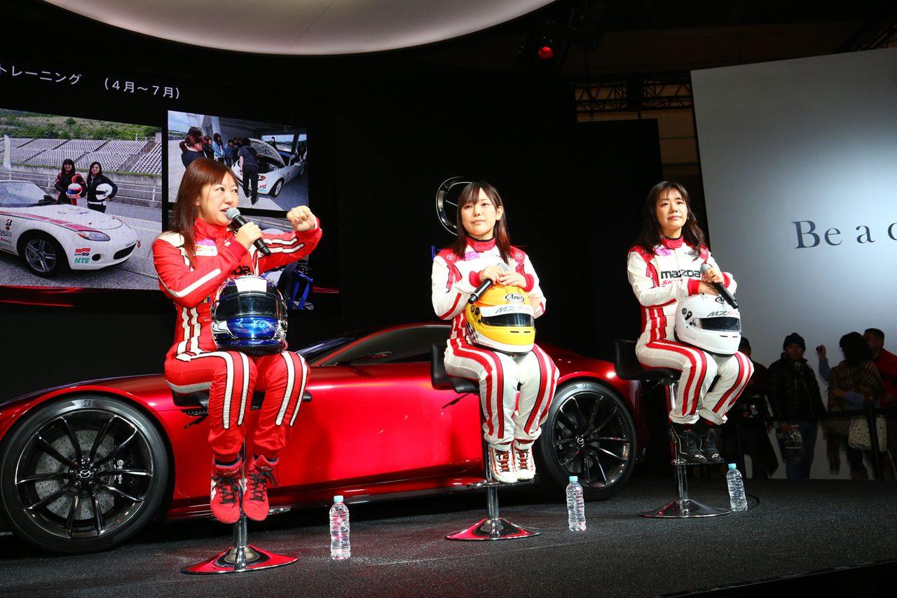 画像: MZRacing(エムゼット レーシング) マツダモータースポーツ情報サイト - 東京オートサロン2016、32万人のファンで賑わう