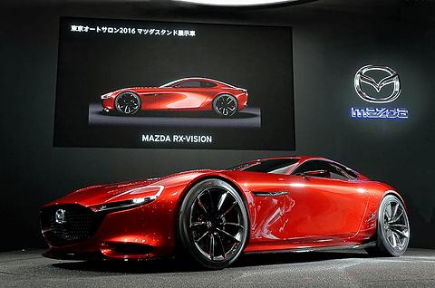 """画像: 【東京オートサロン 2016】マツダ、""""夢の北極星のような存在""""「RX-VISION」など注目モデルを展示 - Car Watch"""