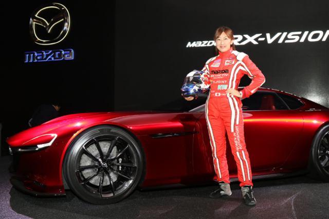 画像: マツダ・モータースポーツより、レーシングドライバー井原慶子さんが「セブリング 12 時間レース」に参戦
