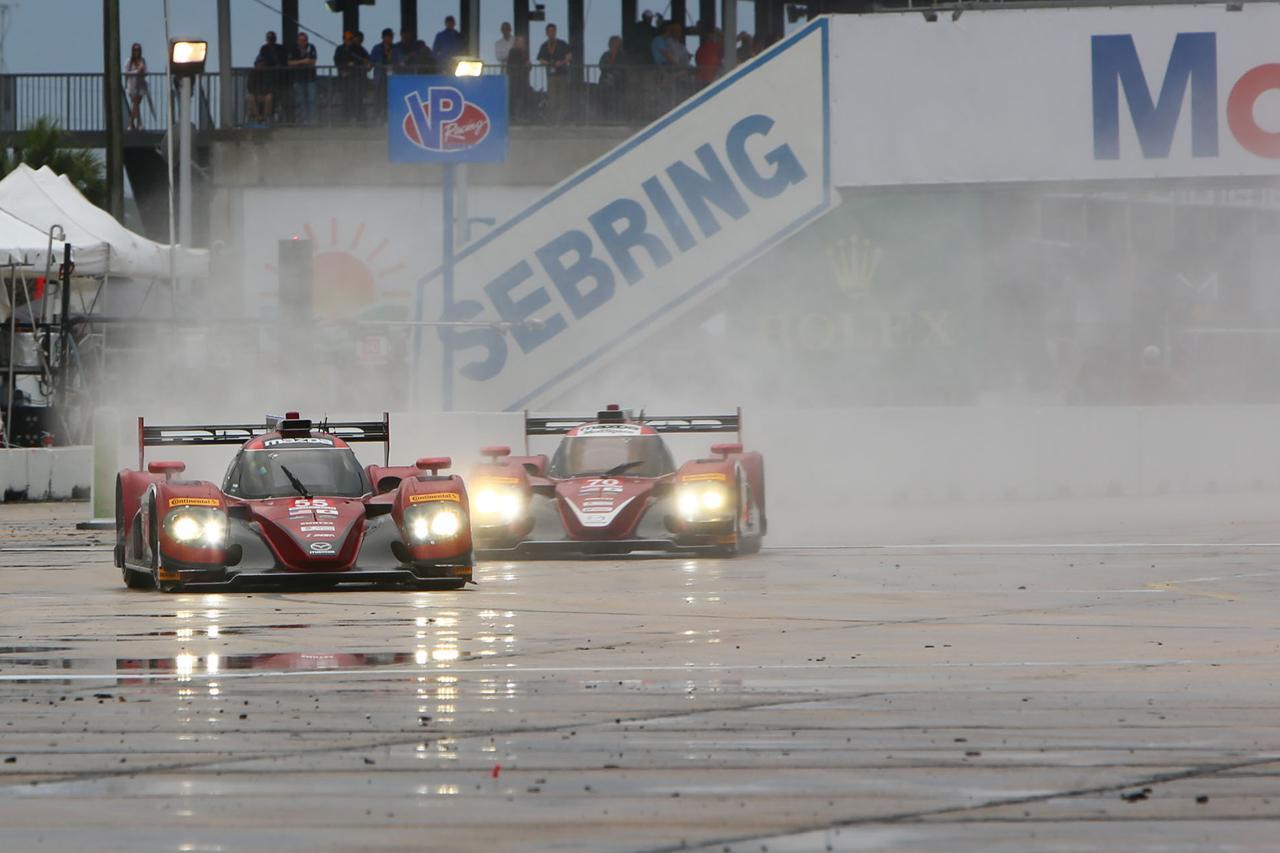 画像: MZRacing(エムゼット レーシング) マツダモータースポーツ情報サイト - IMSAセブリング12時間レース デイ3 マツダ・プロトタイプは2台揃ってトップ10フィニッシュ