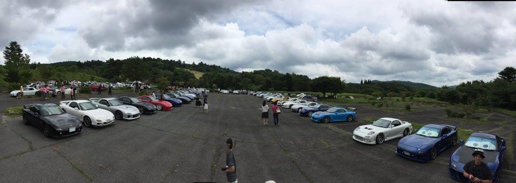 画像1: RX-7のみならず100台を越えるロータリー車が集まるイベント