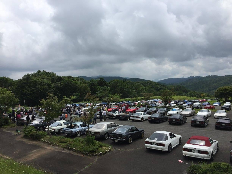 画像2: RX-7のみならず100台を越えるロータリー車が集まるイベント