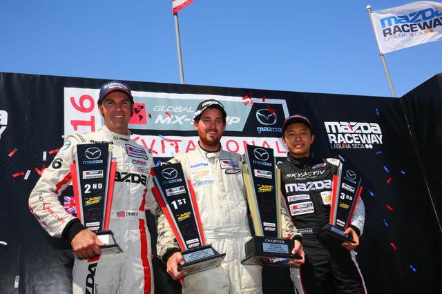 画像: MZRacing(エムゼット レーシング) マツダモータースポーツ情報サイト - 堤優威、グローバルMX-5カップ・EXH第2レースで3位表彰台