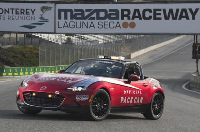 画像: 新型マツダ「MX-5 カップ」レースカーの生産1台目が、ラグナ・セカのペースカーに - Autoblog 日本版