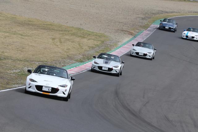 画像: MZRacing(エムゼット レーシング) マツダモータースポーツ情報サイト - パーティレースⅢの新たなシリーズがSUGOで開幕!