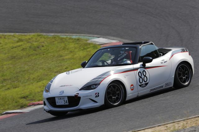 画像: MZRacing(エムゼット レーシング) マツダモータースポーツ情報サイト - 西日本シリーズは本多が3連勝し、猪爪がMWIM最高の2位に入賞