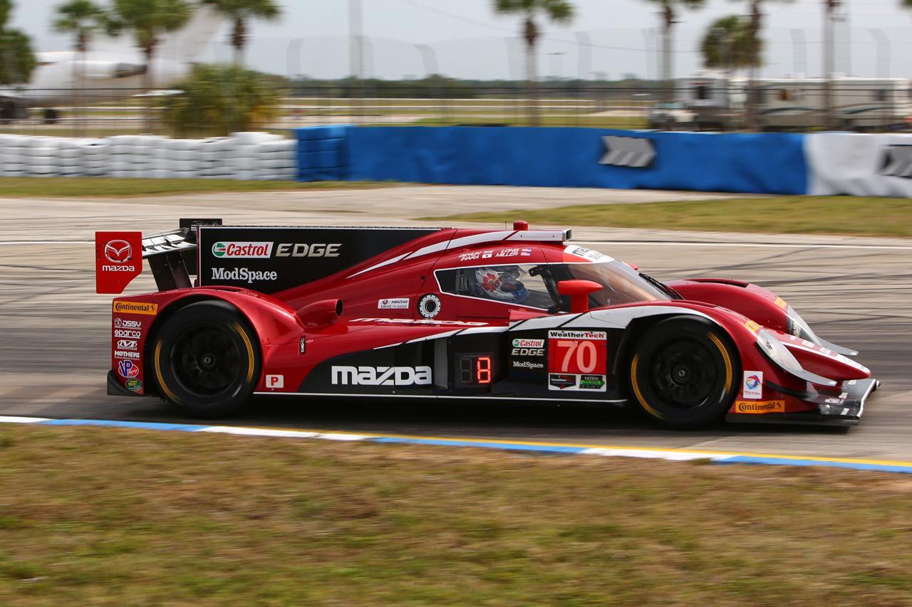 画像: IMSAセブリング12時間レース デイ2 マツダ・プロトタイプは、過去最高の予選5位と7位|MZRacing(エムゼット レーシング)